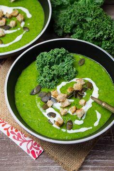 Vegan Potato Kale Soup