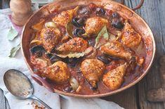 Paprikové kuře s houbami a rajčaty | Apetitonline.cz