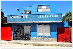 Fachada de la vivienda. Patio, Trinidad, Cities, Terrace