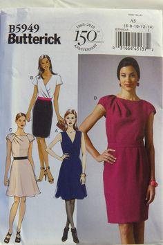 Butterick 5949 Misses' Dress
