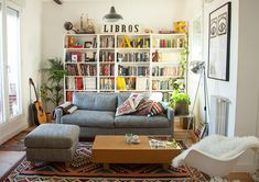 Step Into an Illustrator's Sunny, Spanish Flat (via Bloglovin.com )