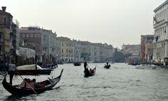 Canal Grande Venetie Gondel