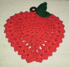 Ravelry: Apple Trivet pattern by April Moreland