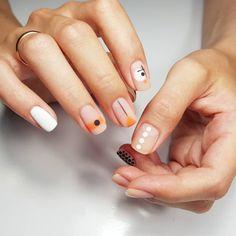 Semi-permanent varnish, false nails, patches: which manicure to choose? - My Nails Print No Instagram, Cute Nails, Pretty Nails, Hair And Nails, My Nails, Nagellack Design, Nails Polish, Modern Nails, Minimalist Nails