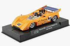 It McLaren 'Dan Gurney' winner Can-Am Mosport scale slot car. Bruce Mclaren, Dan Gurney, Can Am, Slot Cars, Scale, Autos, Slot Car Tracks, Weighing Scale, Libra