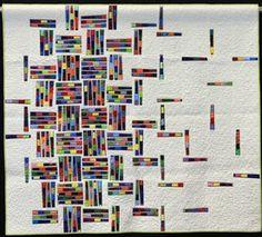 Gallery: NQA 2013 Quilt Show, 3rd Place Srap Quilt, Unraveling #2, Judy Tescher