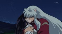 """—Kikyō Kikyō (桔梗, """"Chinese Bellflower"""") was a miko during the Sengoku jidai and, at one time, Inuyasha's main love interest. She was entrusted by the yōkai taijiya to guard and purify the Shikon no Tama. Along with her younger sister, Kaede, Kikyō dedicated her life to protecting the jewel, slaying many demons in the process and thus could not live a normal life like other girls. It was not long until she met the hanyō Inuyasha, who also desired the mystical Jewel to become a full-fledged..."""
