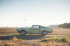 UNE INCROYABLE 1967 SHELBY MUSTANG GT500 D'ORIGINE AUX ENCHÈRES