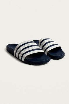 new products 11e65 b223d Slide View  2  adidas Adilette Blue Pool Sliders Adidas Tumblr, Adidas  Slides,