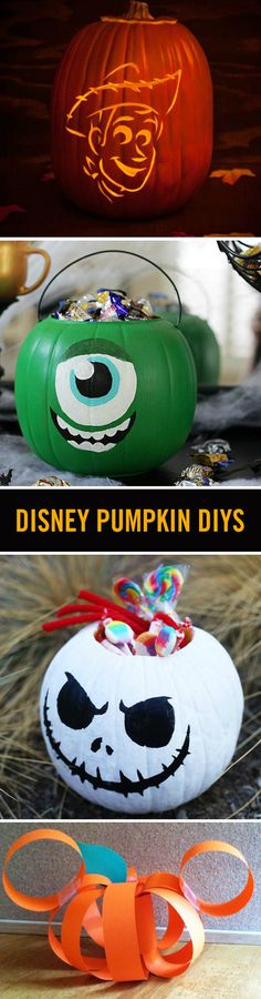 Halloween gives us a chance to show off our Disney side to the whole neighborhood. These DIY Disney pumpkin crafts and recipes are bringing a dash of magic to our jack-o'-lanterns and more.