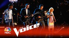 """The Voice 2015 - Blake, Adam, Pharrell & Christina: """"The Thrill Is Gone"""" in honor of the late, great B. B. King.  Watch Pharrell on drums."""