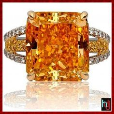 Orange diamond! Beautiful!