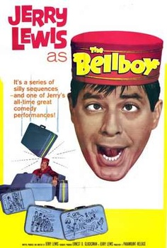 The Bellboy (1960). Written, directed, and starred by Jerry Lewis. This movie is a triple threat to the genre of comedy. Jerry Lewis plays a mute bellboy who pantomimes everything throughout the entire film. Jerry Lewis's performance in the Bellboy is a great example of what it actually means to be a funny actor.