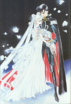 Princess Serenity Prince Endymion : 美少女戦士セーラームーン原画集 Bishoujo Senshi Sailor Moon Original Picture Collection Vol.1 by Naoko Takeuchi