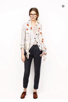 madewell: cardigan, oxfords. @Dior HOMME! {DIRTY SOUTH} SIZE 38 - 42 / SUIT 48  DESIGNER: ALEXANDER V WESLEY