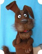 Bobby the Dog. (for sale) Puppets For Sale, Professional Puppets, Types Of Puppets, Puppet Making, Maltese Dogs, Hound Dog, Squirrel, Bobby, Scooby Doo