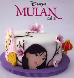 Fantastic Cakes Princess Mulan On Pinterest Funny Birthday Cards Online Alyptdamsfinfo