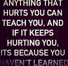 Hurt teach us