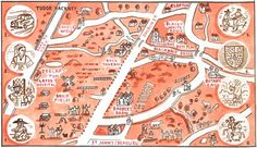 Hackney Stories Old and New by Adam Dant - Tudor Hackney