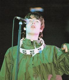 """Glastonbury 1995 Copyright to the owners "" Lennon Gallagher, Liam Gallagher Oasis, Oasis Band, Liam And Noel, Declan Mckenna, Primal Scream, Acid House, British Rock, Music Aesthetic"