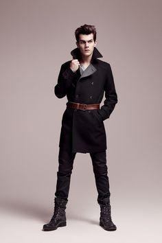 Overcoat / boots
