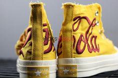 f031979291fd Kith x Coca-Cola x Converse Chuck Taylor All Star 1970s Yellow Yellow  Converse