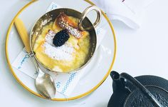 This amazing soufflé from Måurice Luncheonette is cakey on top, pudding-y on the bottom, tart all the way through.