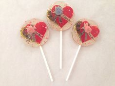 3 Natural cherry Valentines Day marzipan candy by asecretforest