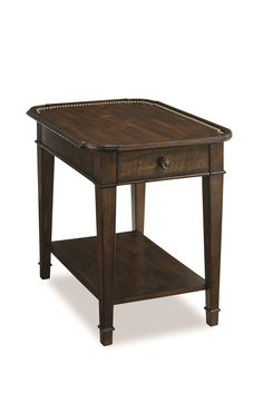 Chateaux Walnut End Table