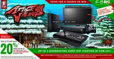 """Enter for a chance to win a Sony PS4 Pro or Xbox One X console, Hori RAP 4 or RAP V Fightstick, plus BenQ 24"""" gaming monitor, and WD EasyStore 4TB Hard Drive!"""