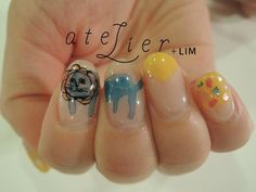 atelier+LIM watercolour nail