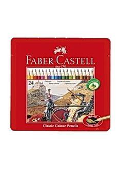 FABER-CASTELL värikynät 24 väriä 8,20 e