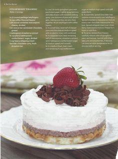 Strawberry Tiramisu ~ Southern Lady Magazine