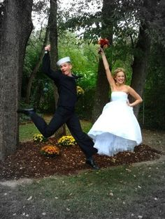 cute wedding photo idea