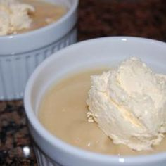 Butterscotch pudding is the perfect fall dessert.  Kids and adults both love it.