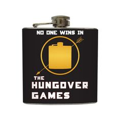 The Hungover Games Flask