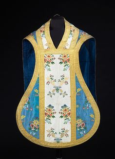 Silk Chasuble with Metallic embroidery - French - Late 18th Century