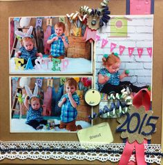 3 picture scrapbook layout .... Easter 2015 Picture Scrapbook, Easter 2015, 3 Picture, Layout, Frame, Home Decor, Picture Frame, Decoration Home, Page Layout