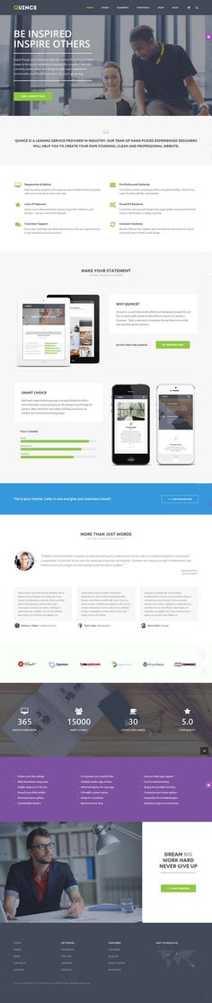 Quince : Modern Business WordPress Theme