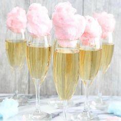 Bubbles & cotton candy ✨ #saturday #champagne #popthatbottle