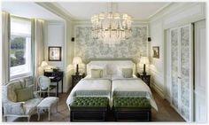 A room at the luxurious Sacher Hotel Salzburg #feelaustria