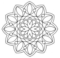 Free Mandala Coloring Pages 7