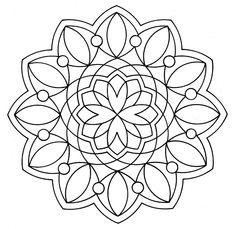 Free Mandala Coloring Pages 7