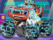 Repair Blaze Monster Truck Last Man Standing Game, Baby Games Online, Monster Truck Games, Crazy Games, Truck Repair, Game Info, Ninja Warrior, Game Concept, Colorful Candy