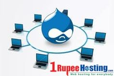 drupal hosting package from 1rupeehosting.com