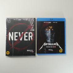 Metallica Through the Never 3D Blu-ray [Korea Limited Edition, SlipCover, 2Disc]