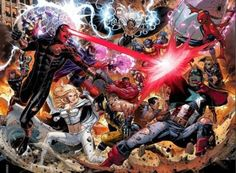 Excited for this big mess #AvX
