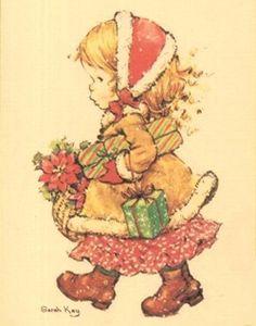 Niña regalos Navidad
