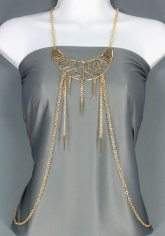 Urban Sew - Gold Body Chain, $20.00 (http://www.urbansew.com/gold-body-chain/)