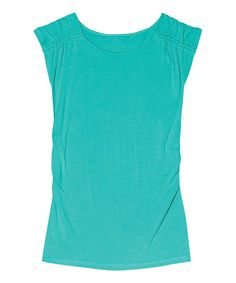 Another great find on #zulily! Bright Aqua Mayfield Tee by Aventura #zulilyfinds
